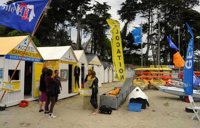 Centre Nautique Cardinale Sud Nevez Tourisme Bretagne
