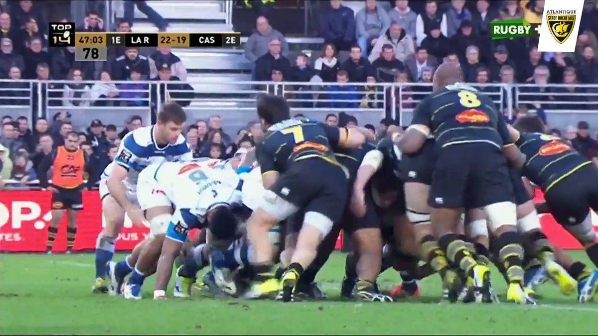Après-match La Rochelle / Castres
