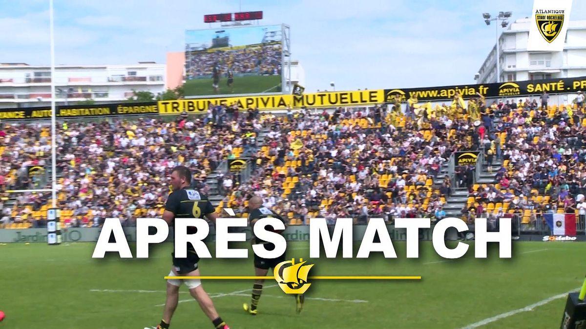 Après Match La Rochelle - Montpellier