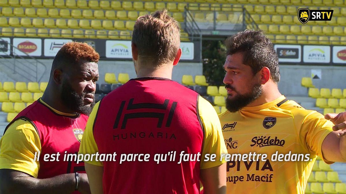 Le point presse avant Stade Rochelais / Agen