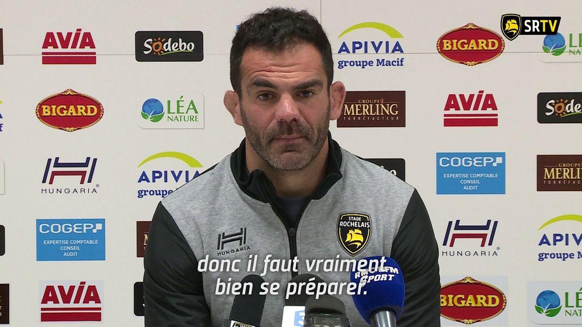 Stade Rochelais - Pau : le Point Presse