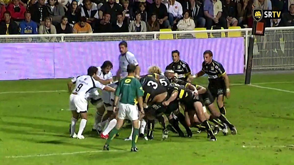 Top 14 2010 - Premier match de l'histoire du Stade Rochelais en TOP 14