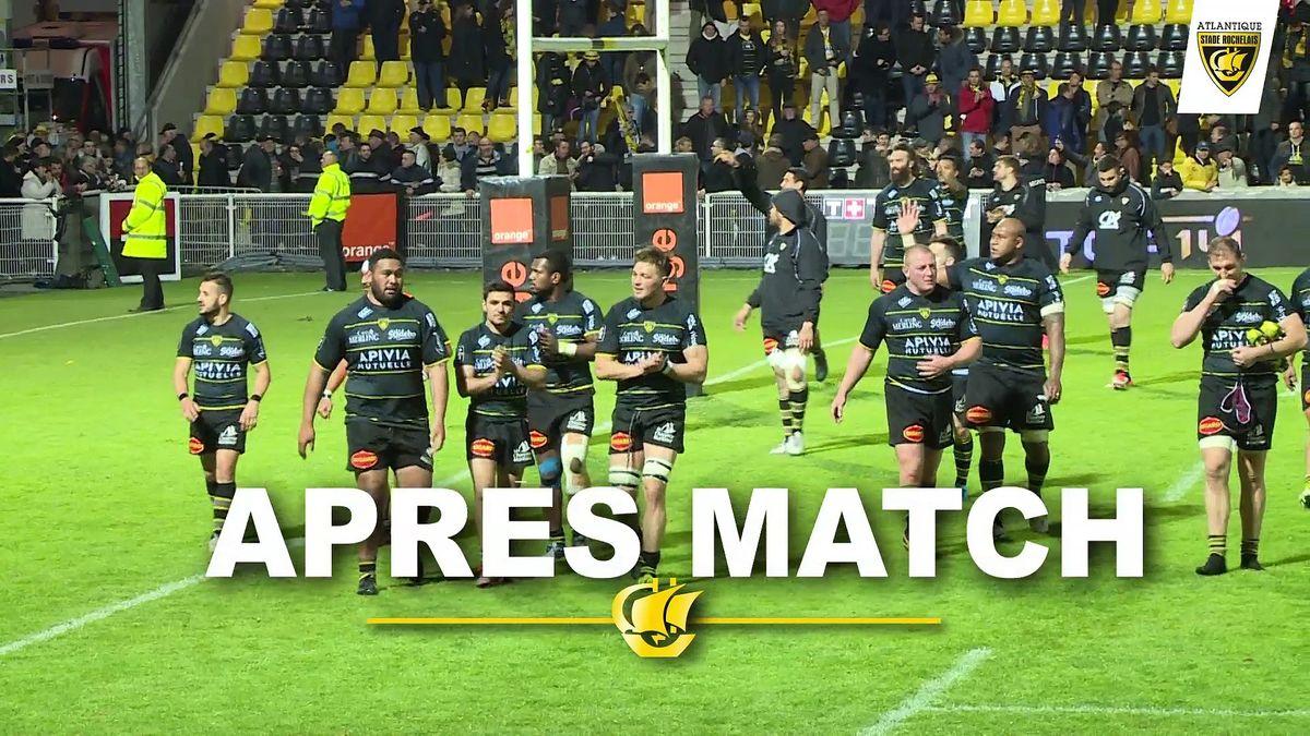 Après match Stade Rochelais / Union Bordeaux Bègles