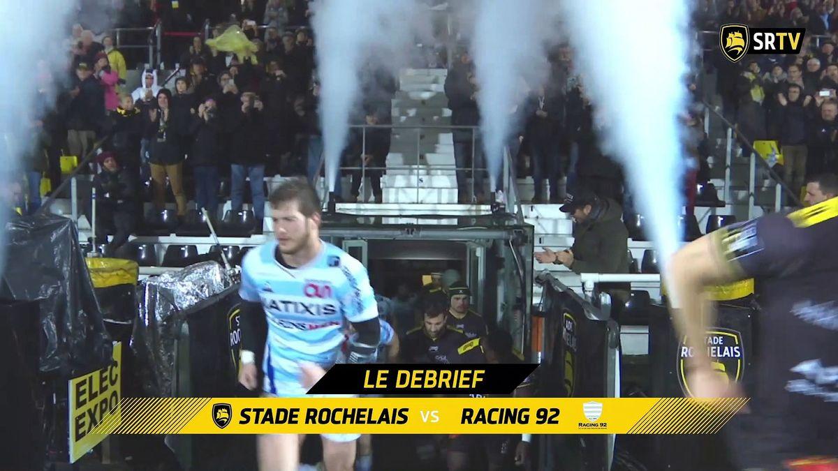 Stade Rochelais / Racing 92 : le Debrief !
