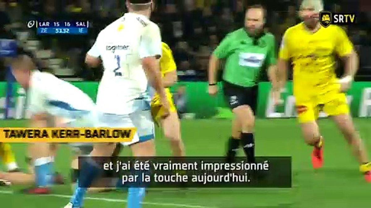 Stade Rochelais / Sale, le Debrief