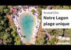 krusoé chic & son lagon-plage pierre verte