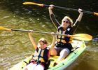 Location de kayak canal de Nantes à Brest - Roc St-André - Morbihan - Bretagne