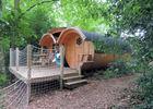 Baricane- Hébergement insolite - Camping Domaine du Roc - Brocéliande - Bretagne