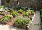 Jardin médiéval - Josselin - Morbihan - Bretagne