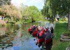 Visites guidées en canoë Montfort au crépuscule