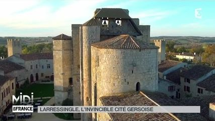 Larressingle, l'invincible cité Gersoise