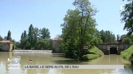 La Baïse, le Gers au fil de l'eau