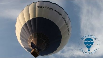 Vol en Montgolfière, Ballons au dessus du Gers