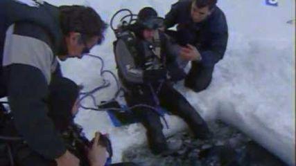 Plongée sous la glace aux Angles