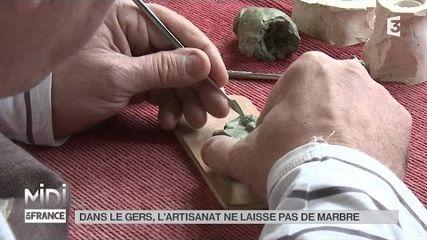Dans le Gers, l'artisanat ne laisse pas de marbre
