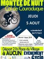 La Montée Nocturne de Couraduque, épreuve cycliste