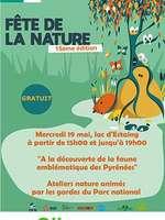 Fêtez la nature avec le Parc national des Pyrénées au lac d'estaing