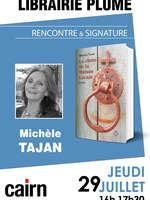 Rencontre et signature avec Michèle Tajan à la librairie Plume
