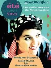 Les nuits sonores de Montmorillon avec Madame Suzanne