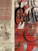 "Exposition ""Calligraphies du monde et calligraphie gestuelle"""