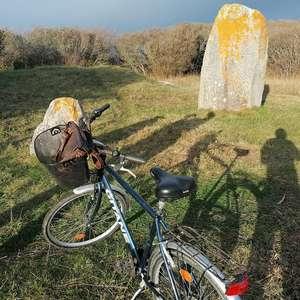 Visite guidée à vélo - Circuit des menhirs