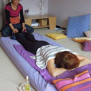 Atelier collectif de pratique du massage bien-être