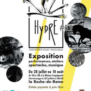 Hydre, Expo d'arts visuels