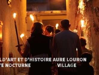 Visite de village nocturne : Arreau