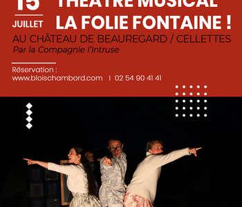 Théâtre musical : La folie La Fontaine