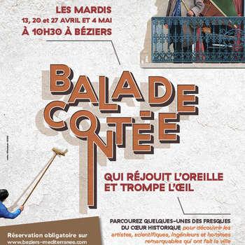 BALADE CONTEE QUI RÉJOUIT L'OREILLE ET TROMPE L'OEIL