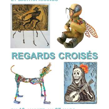 EXPOSITION - REGARDS CROISES