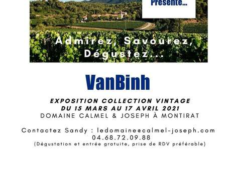 EXPOSITION COLLECTION VINTAGE VANBINH