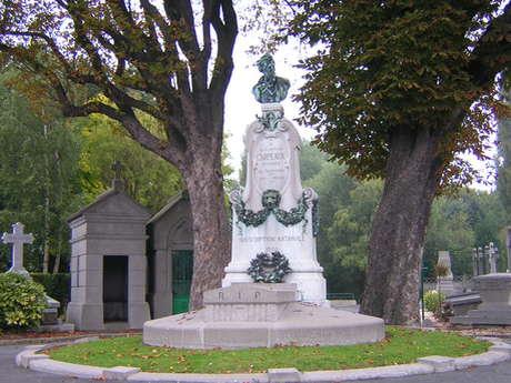 """Saint-Roch ; """"le cimetière des Prix de Rome"""""""