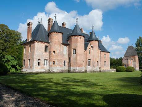 Die Wassergärten des Schlosses La Coutûre