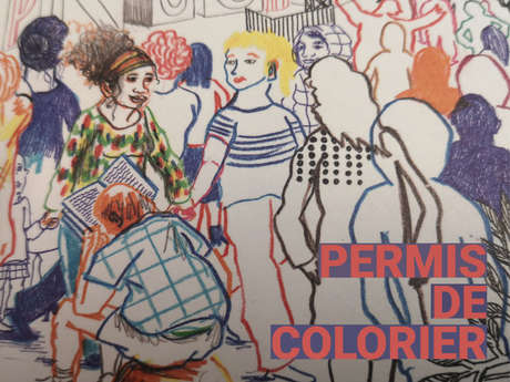 EXHIBITION PERMITTED TO COLORING!