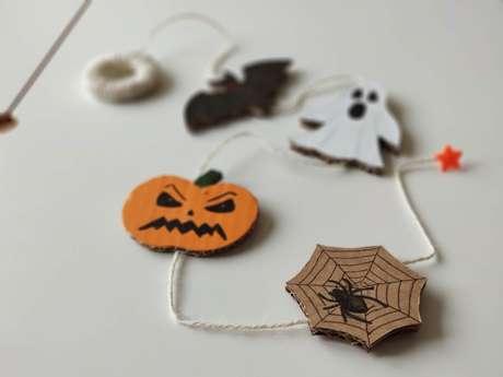 Crée ta décoration d'Halloween