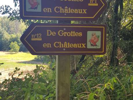 De Grottes en Châteaux/ Boucle 1