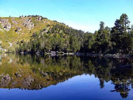 Quérigut pond