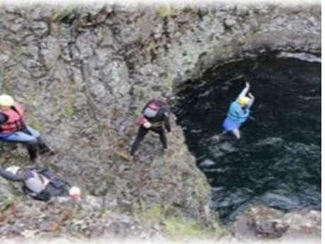 Eaux Vives : Canyon aquatique