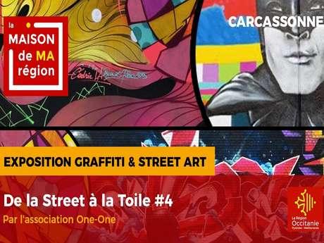 MAISON DE LA REGION :DE LA STREET ART A LA TOILE
