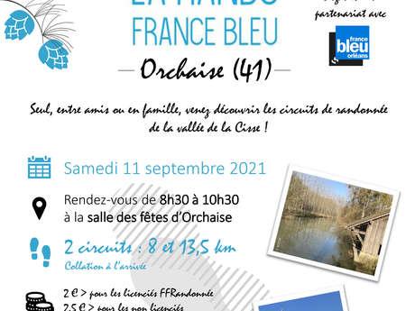 Rando France Bleu - Orchaise