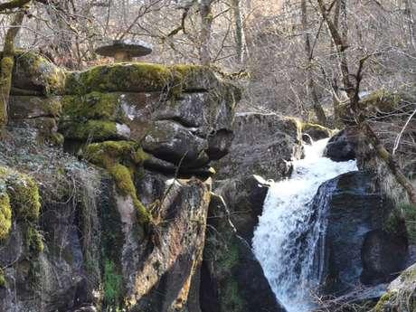 Circuit pédestre N°67 : Sentier de Découverte de la cascade des Jarrauds