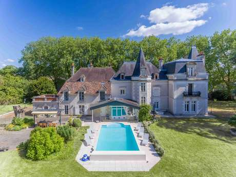Château de l'Hubertière et son cottage