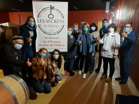 ESCAPE GAME LES SECRETS DU MADIRAN