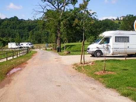 Aire municipale de service pour camping-car