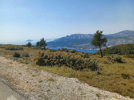 Cyclo - Les balaises du cap Canaille