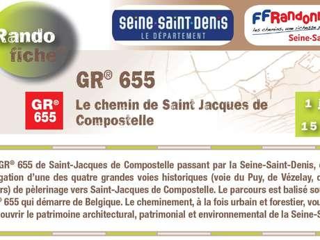 GR® 655, LE CHEMIN DE SAINT-JACQUES DE COMPOSTELLE