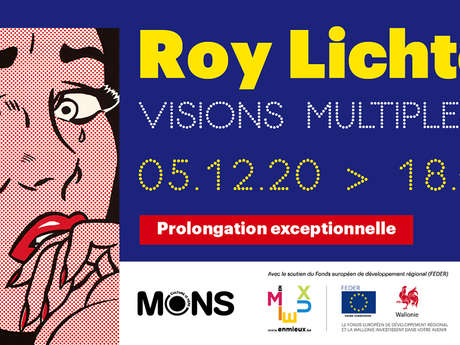 """Roy Lichtenstein """"Visions multiples"""""""