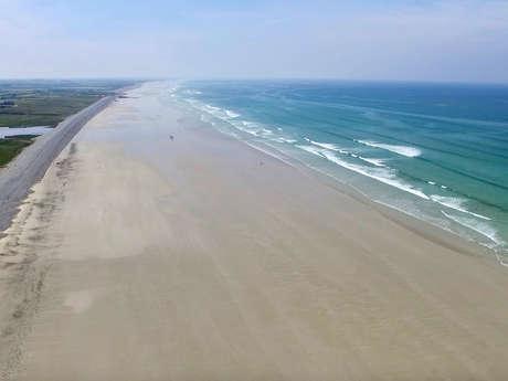 Liaison bourg - plage : Plovan - Plage de Ruvein