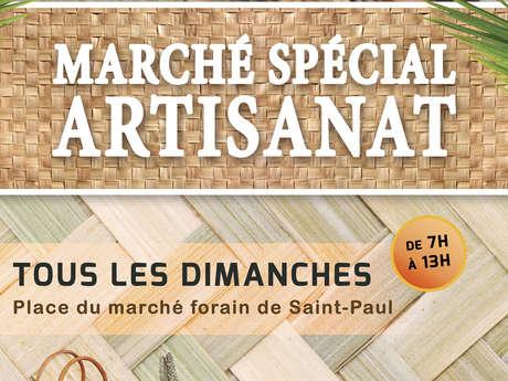 Marché spécial Artisanat